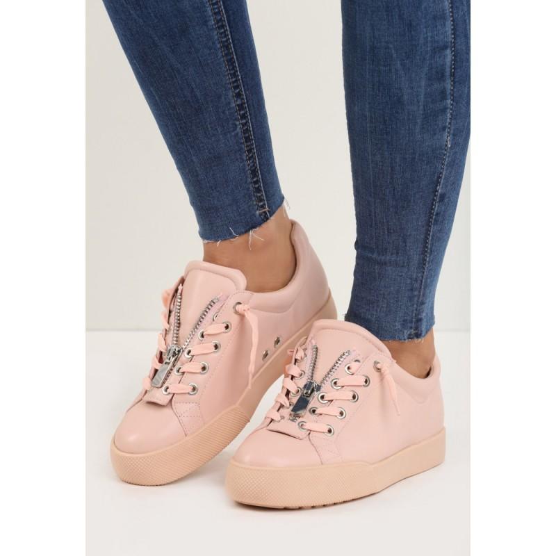 ... obuv Sportovní dámské boty na hrubé podrážce v růžové barvě. Předchozí fc67bb9e89