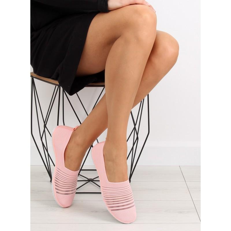 74036f5eadb ... obuv Sportovní boty dámské růžové barvy bez šněrování. Předchozí