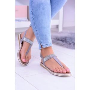 Dámské sandály s kamínky