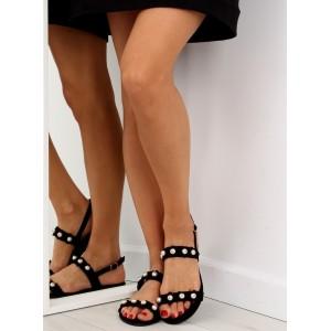 Dámské letní sandály v černé barvě