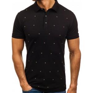 Polokošile v černé barvě s hvězdičkami