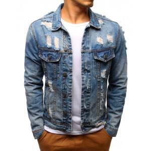 Džínová bunda na běžné nošení