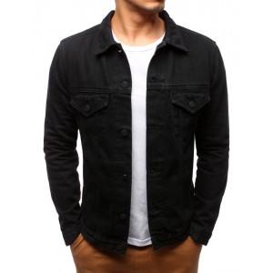 Černá riflová bunda