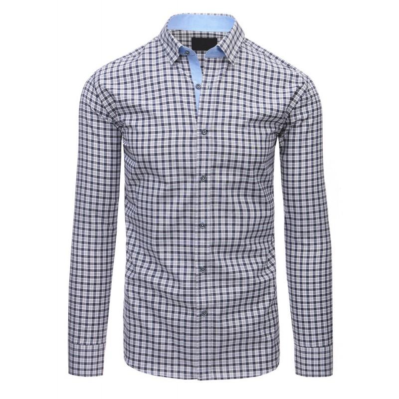 8e4605e4908 Společenská košile pánská modré barvy