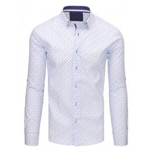 Pánské košile do obleku bílé barvy