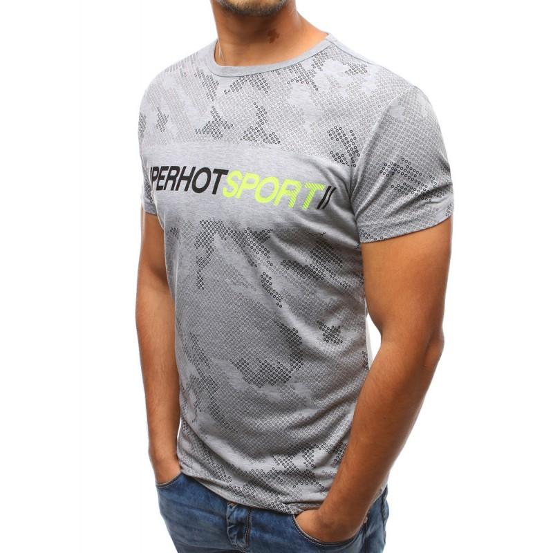 Pánská sportovní trička s nápisem d9be58ff74