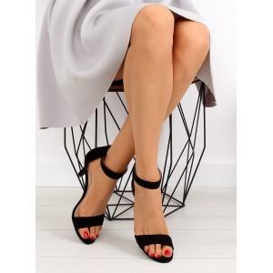 Černé sandály pro dámy