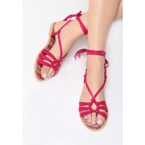 Kristusky boty růžové barvy na léto