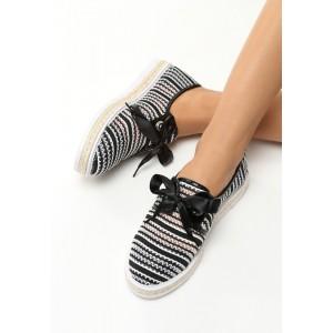 Letní dámská obuv s mašlí