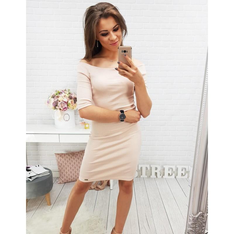 ffbe7eed96ab Dámské letní šaty růžové barvy
