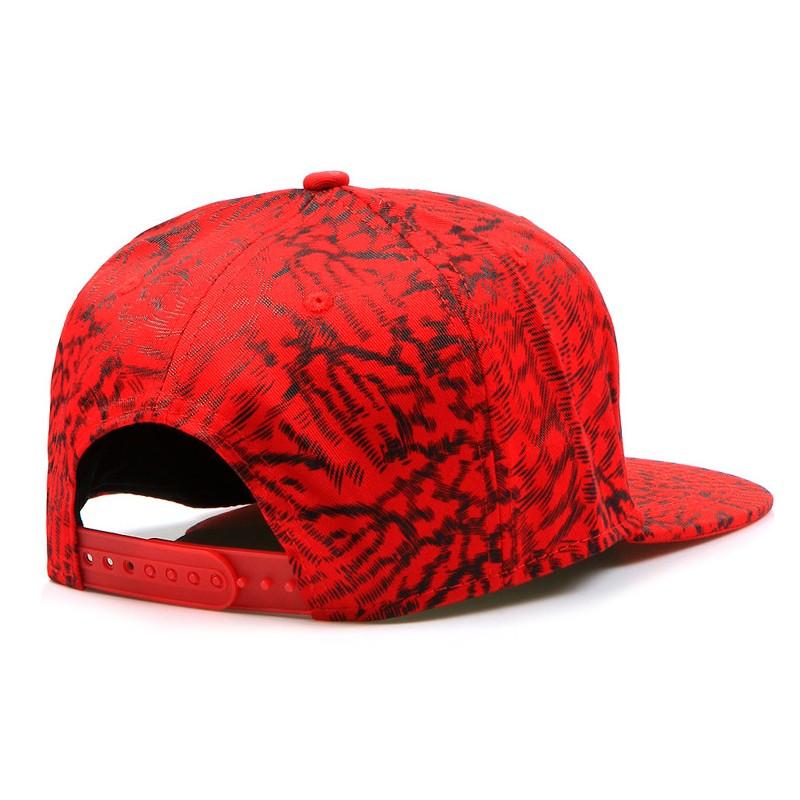 Čepice s kšiltem červené e5d9ee4d89