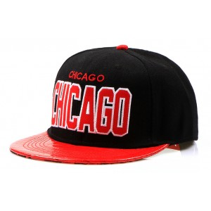 Černá kšiltovka CHICAGO