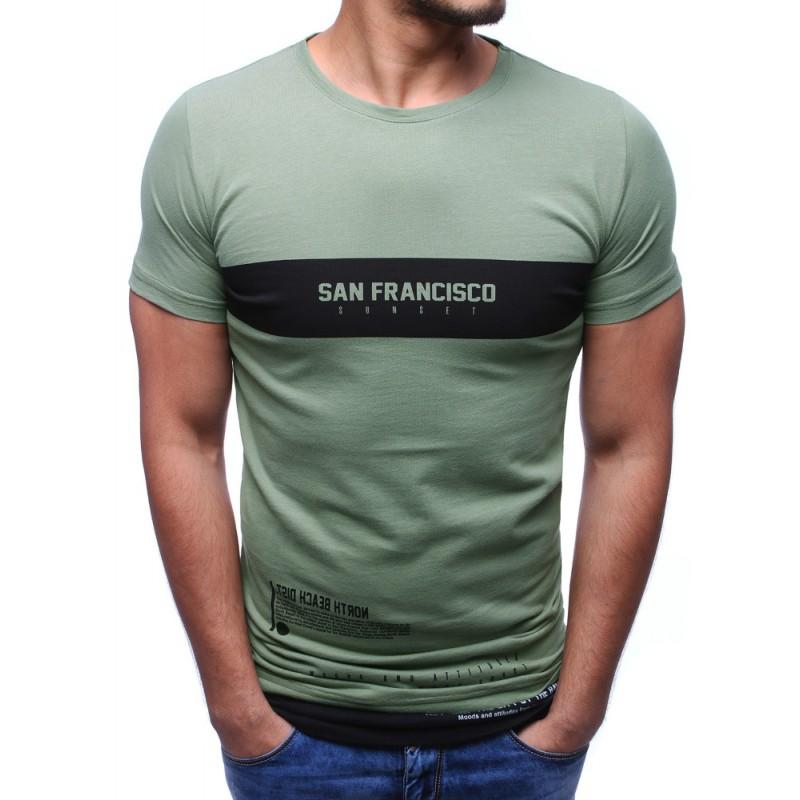 e97e35803 Stylová trička zelené barvy