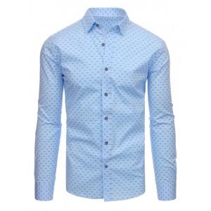 Luxusní košile pánské modré barvy