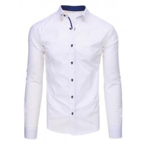 Košile pánské společenské bílé barvy