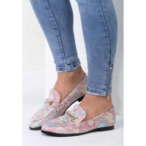Outdoorová obuv v růžové barvě