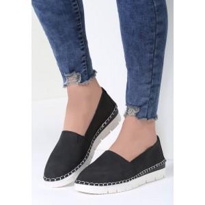 Slip on boty černé