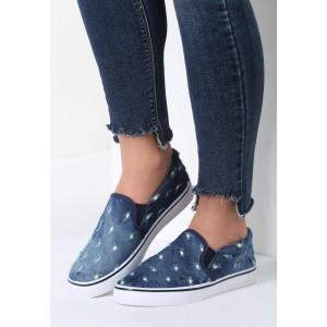 Plátěné boty s barevným vzorem