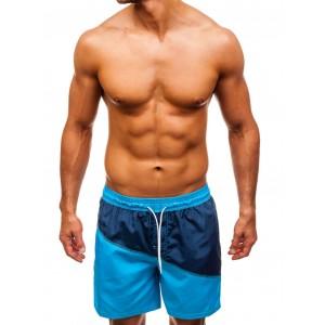 Šortkové plavky dvoubarevné