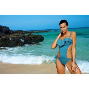 Monokiny plavky modré barvy