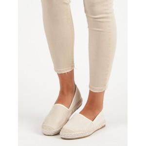 Dámské letní boty béžové barvy