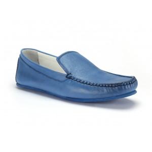 Kožené boty mokasíny