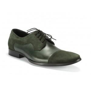 Pánská obuv COMODO E SANO zelené barvy