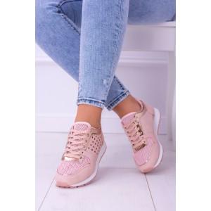 Sportovní obuv v růžové barvě