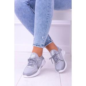 Dámská sportovní obuv šedé barvy