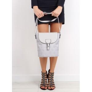 Dámská taška přes rameno šedé barvy
