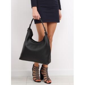 Černá dámská kabelka se zipem