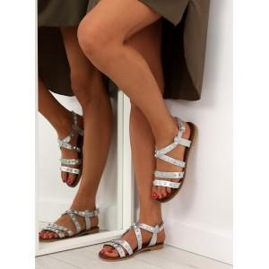 Letní dámské sandály s vybíjením