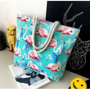Plážové tašky v tyrkysové barvě