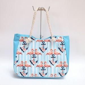 Plažové tašky světle modré