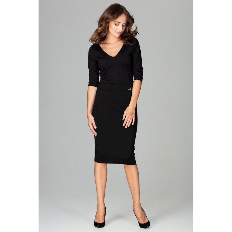 9a4d54113f85 Elegantní šaty černé