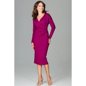 Ženský šaty fialove