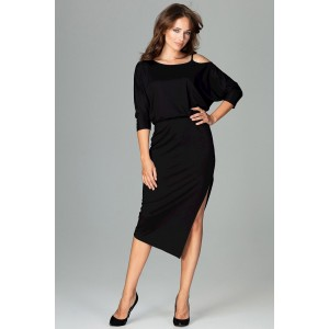 Luxusní šaty černé