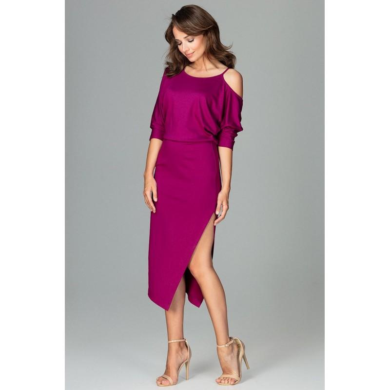 6090bf52af3a Luxusní šaty fialove