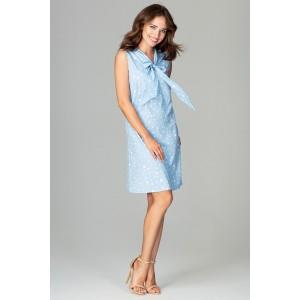 Letní šaty modré
