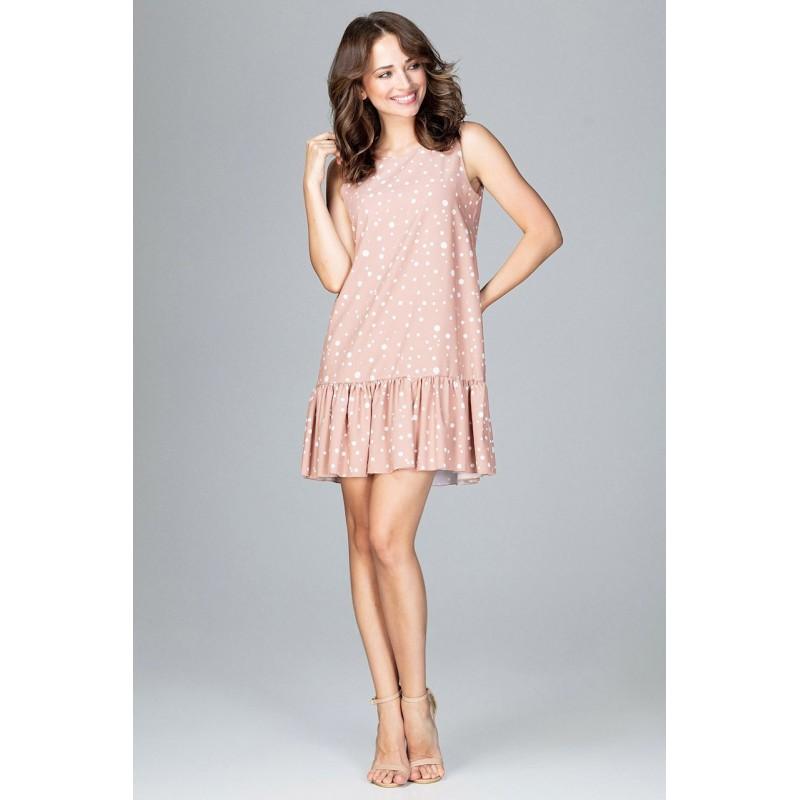 dca2346b4d18 Sportovní dámské šaty růžové
