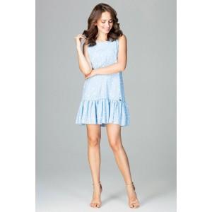 Sportovní dámské šaty modrý