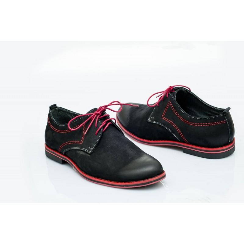 Pánské kožené boty černé PT1205B - manozo.cz 5d702f1dca