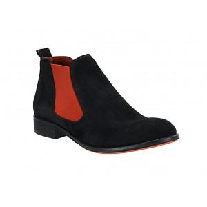 Pánské kožené boty černé ID: 571