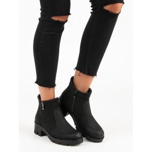 Zimní kotníkové boty dámské