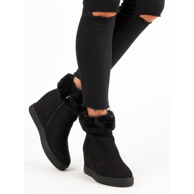 4778471595 Dámské zimní boty s kožíškem