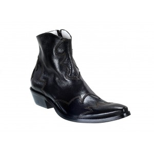 Pánské kožené kovbojky černé ID: 581