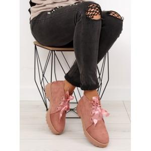 Polobotky dámské růžové barvy
