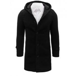 Pánské kabáty černé barvy
