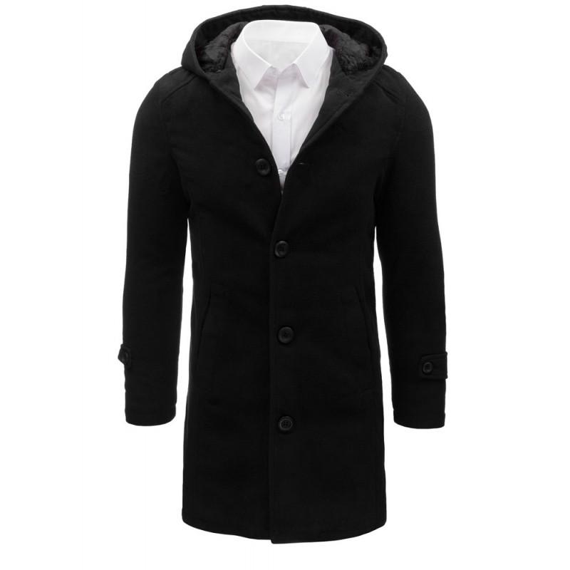 647d4d4be31 Pánské kabáty černé barvy