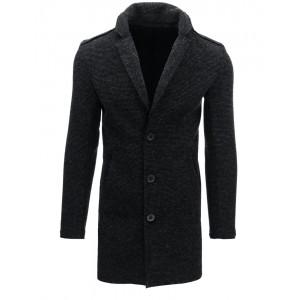 Černý kabát elegantní